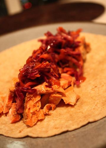 Cajun Salmon Tacos | by kissmywhisk
