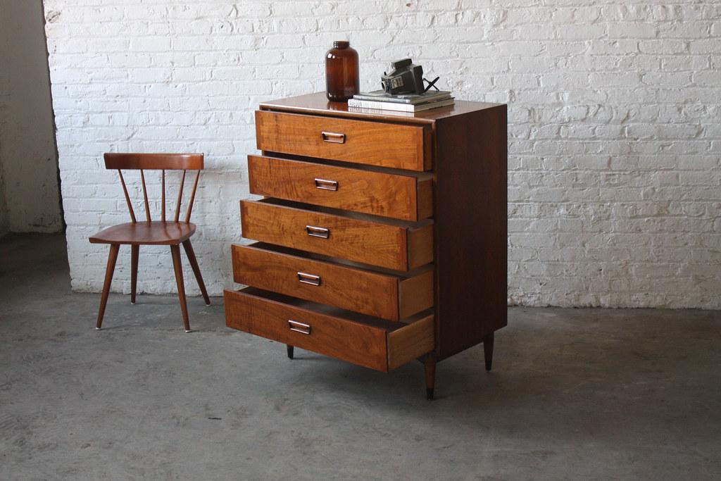 Lane Acclaim Mid Century Modern Tall Dresser Usa 1960 Flickr