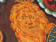 lion wearing spectacles