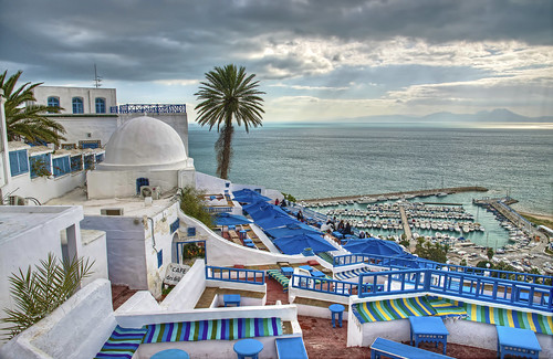 Sidi Bou Said, Tunis. | by usaid.d4s