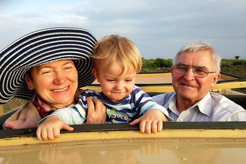 Love med mormor och morfar på safari i Amboseli | by videren