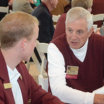 Chris Mellina '14, Ronald Smith '62