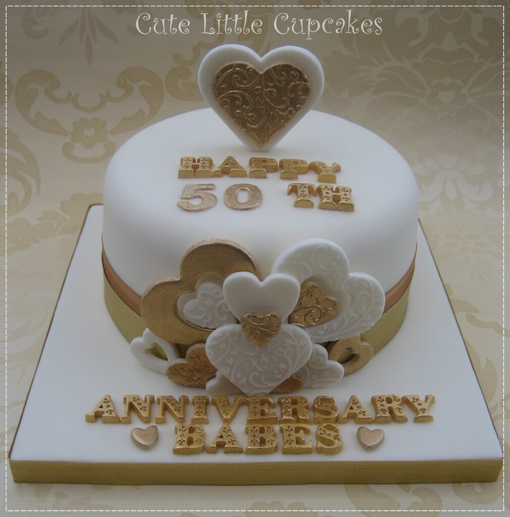 50th Wedding Anniversary Cakes.50th Wedding Anniversary Cake 6 Chocolate Cake Decorated Flickr