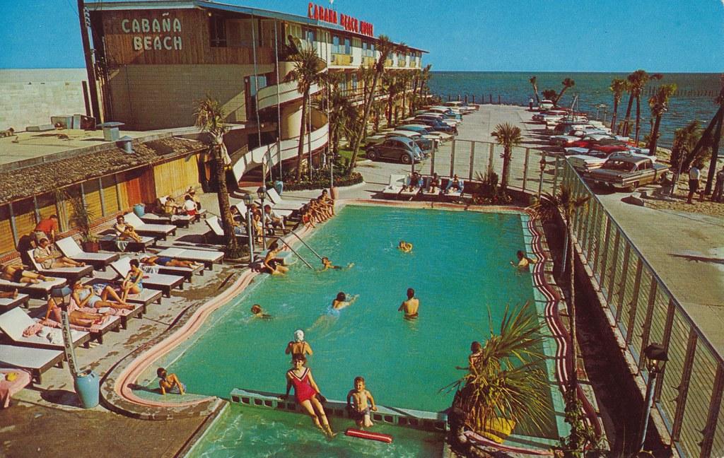 Cabana Beach Motel Biloxi Mississippi Famous Fiesta Roo Flickr