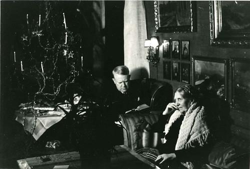 Vidkun Quisling og hans mor Anna