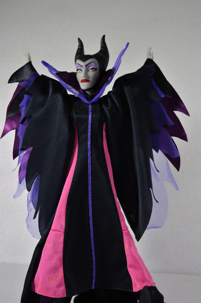 Maleficent Ooak Doll Full Body Sooooooo Because I Wa
