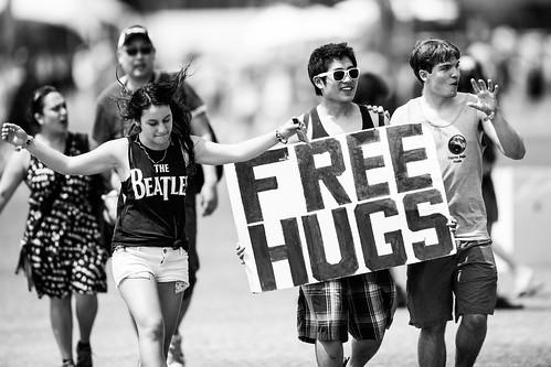 Free Hugs, Coachella 2013 -- Indio, CA
