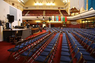 CRE_Digital_Education_Marketing_London_Central_Hall_Westminster_Seats_Side_IMG_6311 | by Click-Recruit-Enrol
