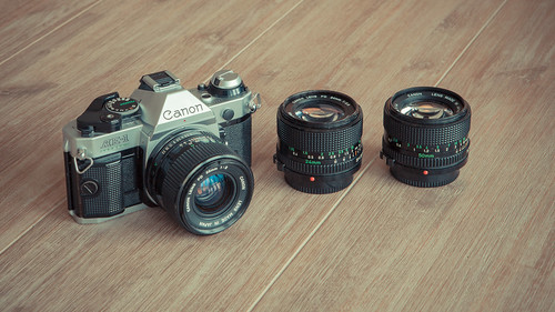 Canon AE-1 Program set