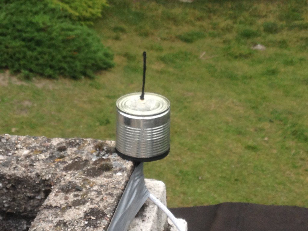 DIY 1090 MHz ADS-B antenna | A quarter-wave whip and a groun… | Flickr