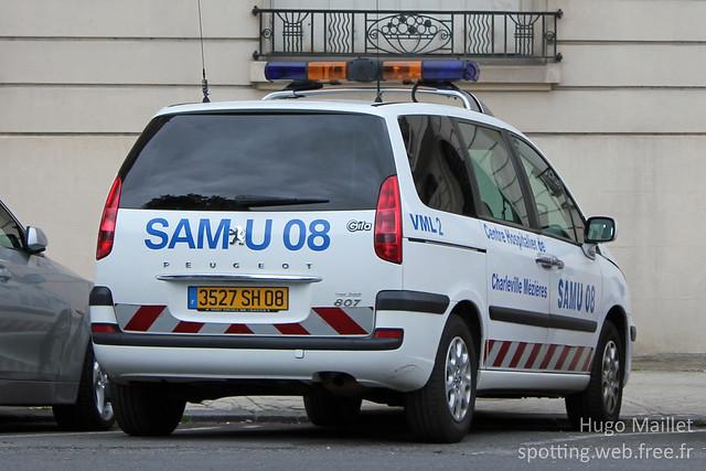 SAMU 08 | Peugeot 807