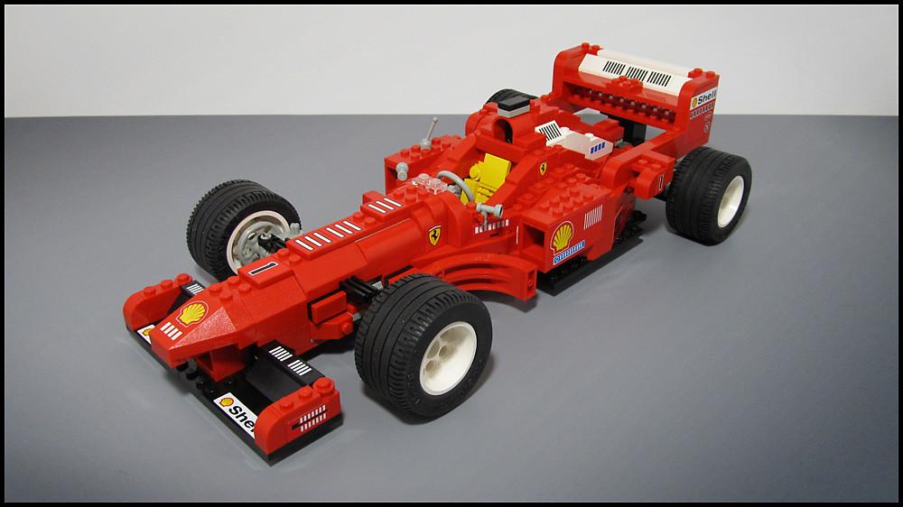 Ferrari Formula 1 Racing Car Lego 2556 I Recently Starte Flickr