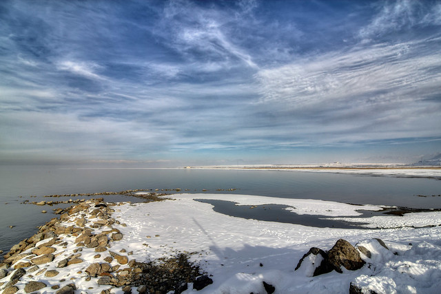 The Great Salt Lake, Salt Lake Co, UT