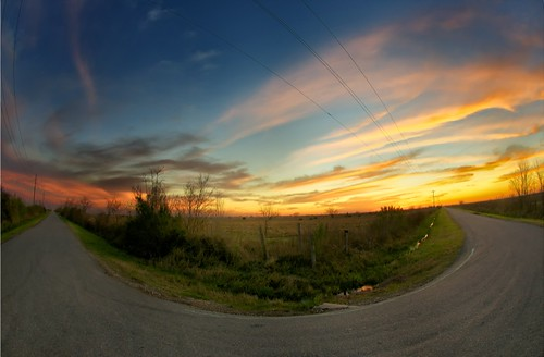 sunset clouds texas katy dusk fisheye prairie katytexas wallercounty katyprairie wallercountytexas