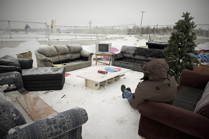 At Home at the Yellowknife Dump