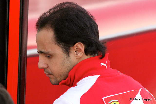 Felipe Massa after Formula One Winter Testing, 3rd March 2013