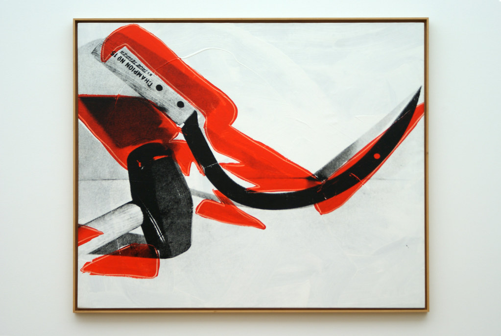 Andy Warhol : Hammer And Sickle (1976) | Andy Warhol : Hamme