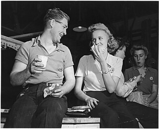 GREATEST GENERATION ON LUNCH BREAK 1942 | by roberthuffstutter