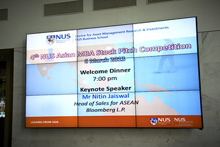 4th NUS Asian MBA Stock Pitch Competition (Day 1), 6-8 March 2013