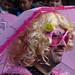 Karneval v Limassolu – vousatá Barbie, foto: Petr Nejedlý