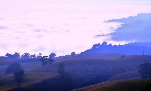 morning autumn cloud weather fog rural sunrise dawn haze nikon view farm smoke australia victoria hills smokey vic hazy seaview gippsland strzeleckiranges mtworth grandridgeroad d5100 mountworth cloverlea mcdonaldstrack nikond5100 phunnyfotos