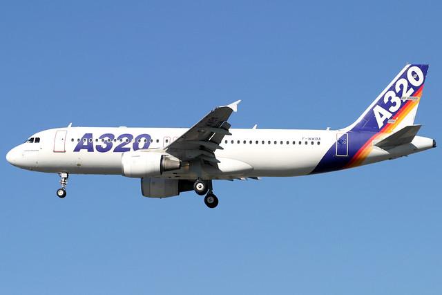 Airbus A320-100 | F-WWBA | London Heathrow