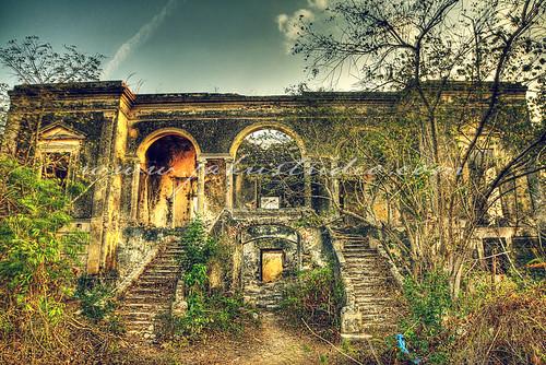 Haunted Hacienda in Cholul, Yucatan, MX