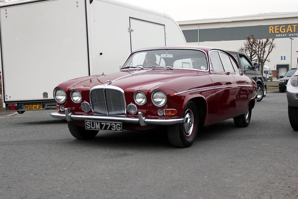 C0117-Trafford Park. | SUM773G 1969 Jaguar 420G. | Damian Sharples | Flickr