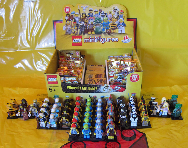 LEGO Collectible Minifigures Series 10 Unpacked