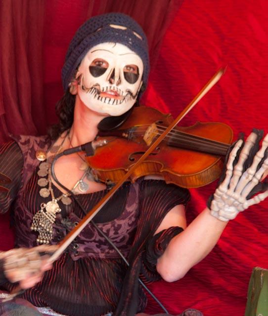 Jamilla Lotus musician at the 2012 Arizona Renaissance Festival