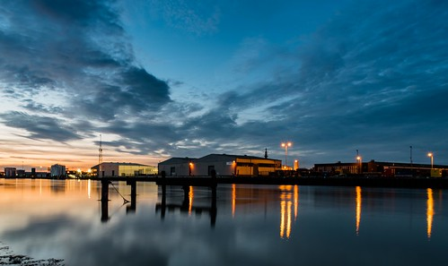 exposure night tamron d750 nikon sunset river industrial long reflections yare gorleston yarmouth 2470mm norfolk great