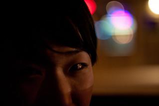Night driving portrait | by Arutemu