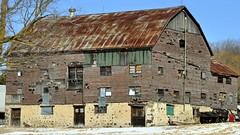 Abandoned chicken barn, Caledon East, Peel Region, Ontario.
