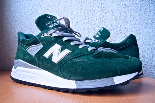 "New Balance 998BB ""Forest Green"" 