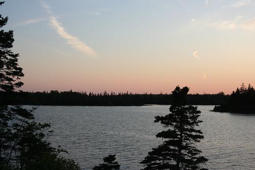 park sunset lake canada nova clear scotia provincial porters