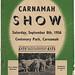 1956 Carnamah Show Schedule
