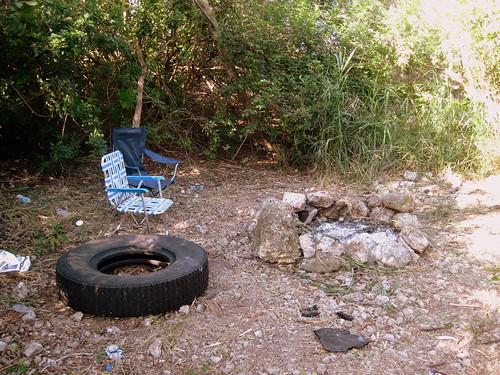 Remains of fake hammock 2-200130329
