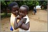Pamela collecting children from school