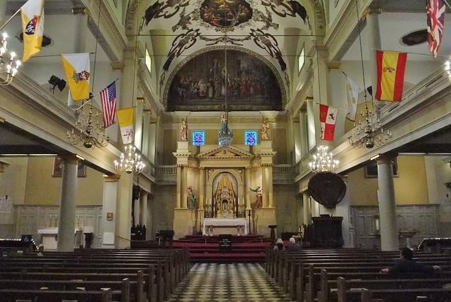 Cathedral-Basilica of Saint Louis, King of France, (St. Louis Cathedral), French Quarter, New Orleans, LA