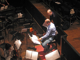 "2013 - Firenze - Maggio Musicale Fiorentino - backstage di ""Bonjour, monsieur Don Juan"""