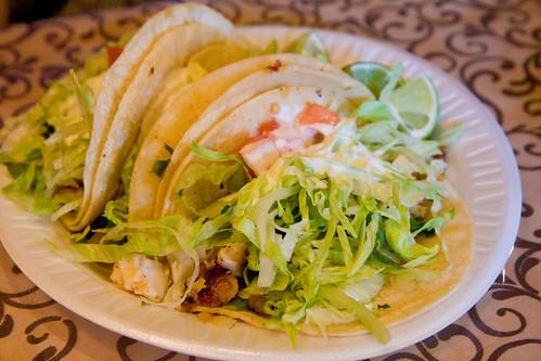 Fish tacos, Taqueria Cocoyoc   by gsz