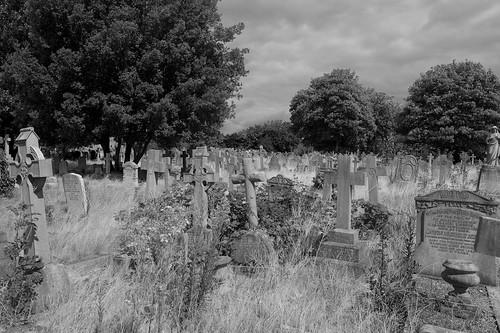 Post war graves