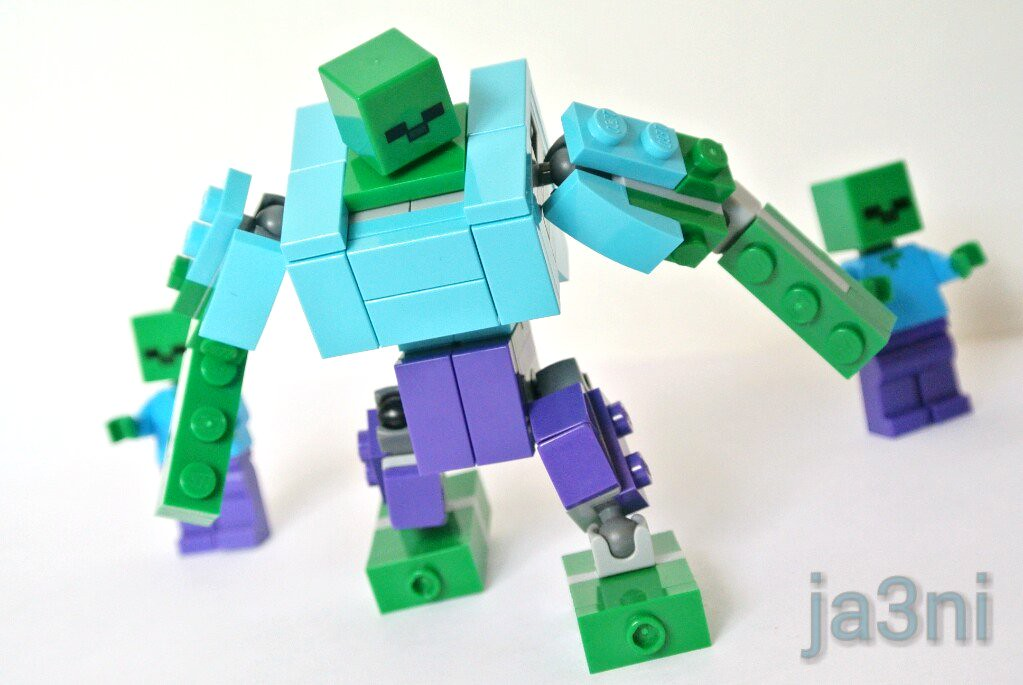 LEGO Minecraft MOC: Mutant Zombie | Ja 3ni | Flickr