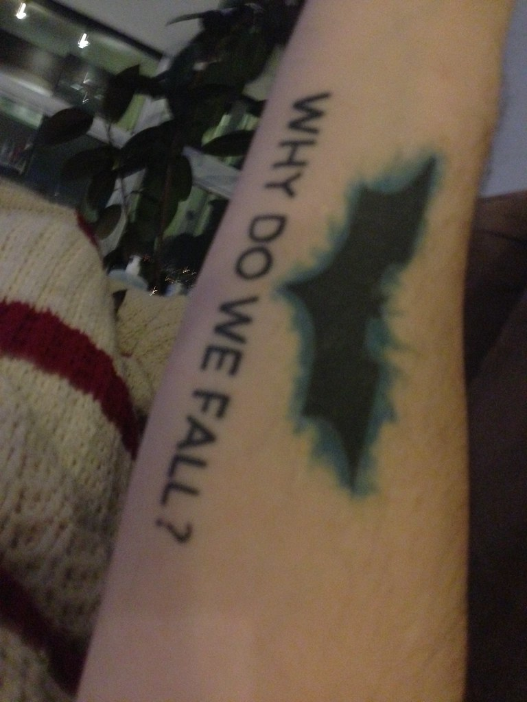 Batman tattoos #batman #tattoo #joker #poisonivy | kakorat21 | Flickr