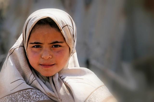 Yemen: enfant de la région de Taiz.