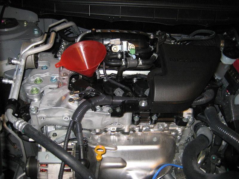 2011 nissan rogue qr25de 2.5l i4 engine - changing motor o… | flickr  flickr