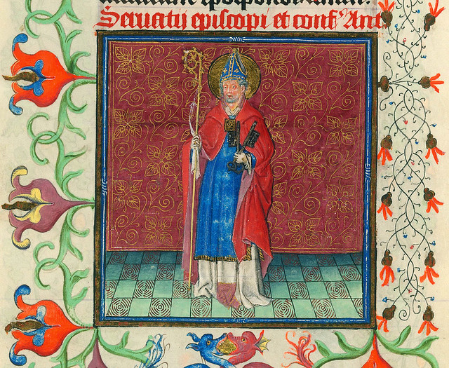 Servatius - NYC Pierpont Morgan Library - Hours of Catharina of Cleves MS M917 pp284-285