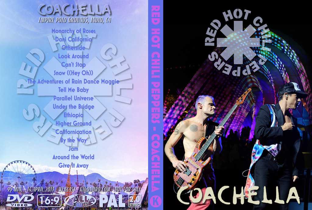 Red Hot Chili Peppers - Coachella 2013 | Txomin Sorrigueta