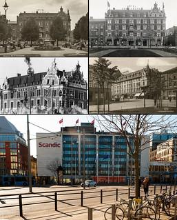 Gothenburg, Nordstaden 1940 / 1971 / 2012