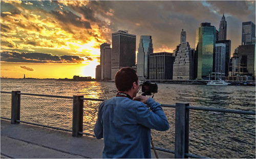 canon sunset brooklyn manhattan nyc gente